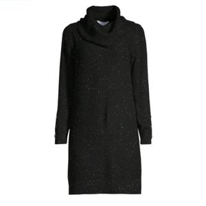 Black Cowl Neck Sweaterdress XXL